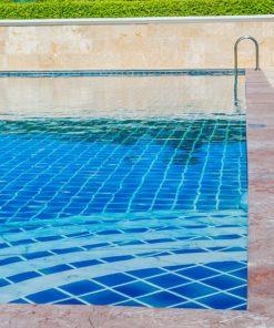 Carrelage piscine mosaïques